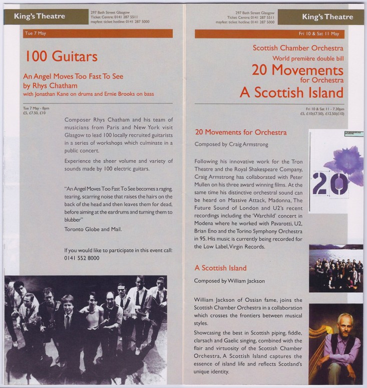 20 Movements – performed by the Scottish Chamber Orchestra