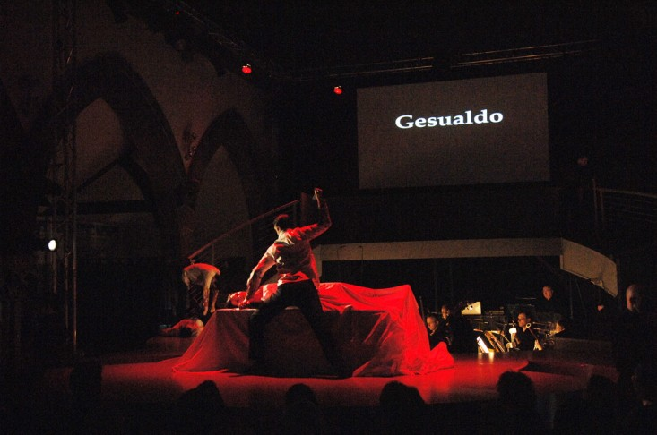 Gesualdo – a 15 minute opera commissioned by Scottish Opera for the 5:15 program.