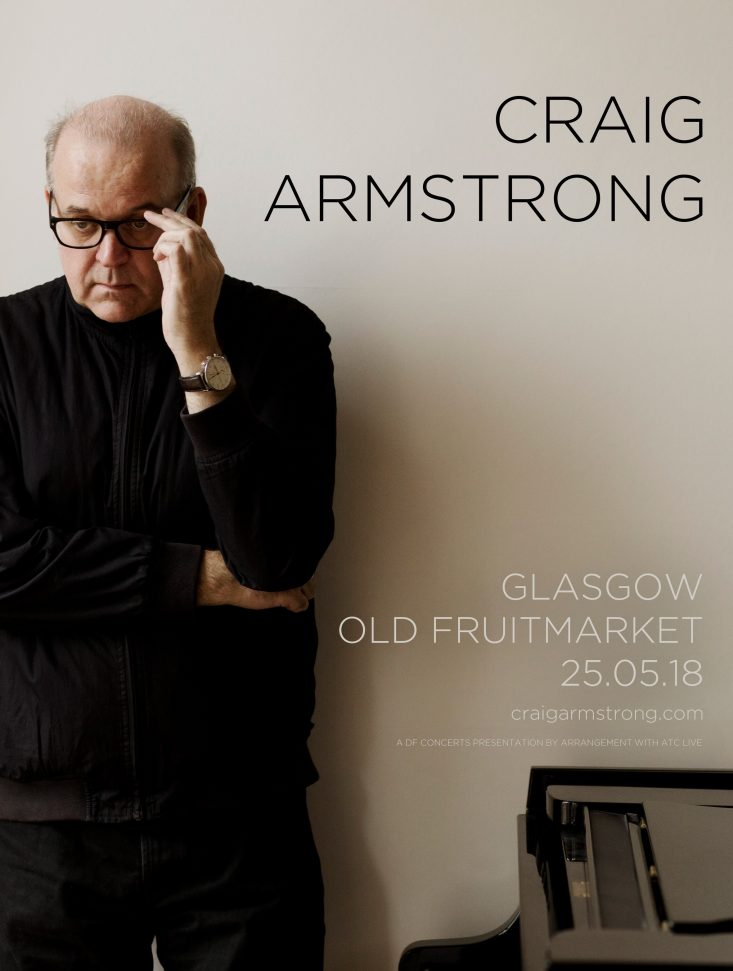 Live Show Announcement: The Old Fruitmarket, Glasgow